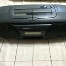 Panasooic RX-DT505 CDラジオカセ