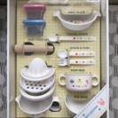 【新品】ファースト テーブルウェアセット ミキハウス 離乳食食器