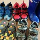 男の子の靴他 19センチ