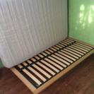 無印 セミダブル ベッド IKEA マットレス 値下げ!