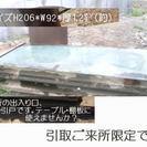 大きなガラス(?)板 テーブル・棚板に使えませんか?