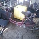 自転車ピンク