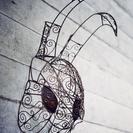 光画社スタジオ日曜ワークショップ ワイヤーワークアート教室