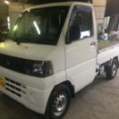 軽トラ 17年 三菱 ミニキャブT 4WD 検30/3月 4.1万km