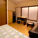 人気の新宿エリア、 家賃45,000円~/月と格安のゲストハウスです。