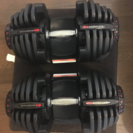 4kg~41kgまで重さ調節可能なダンベル(2個1セット)