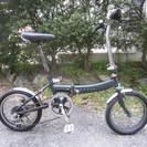 折りたたみ自転車16インチローバー(外装6段変速)