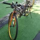 (本日商談)HEADクロスバイクにオプション品も付けます。