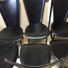 大塚家具   牛革 黒の椅子