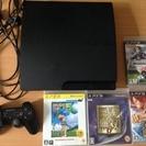 【中古】PS3本体 ソフト4本
