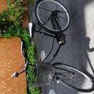 自転車26インチ黒ママチヤリ