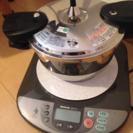 【セット価格】圧力鍋、IH