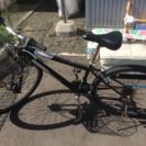 26インチ自転車 黒