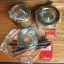 チーズフォンデュー鍋/銅製品