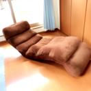 ■座椅子■プーリー■ブラウン■