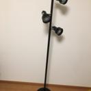 スタンドライト(165cmほど、電球3つ)