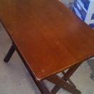 木製フォールディングテーブル