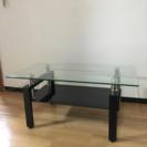【3年ほど使用】ガラステーブル