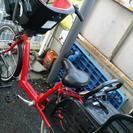 ブリジストンアンジェリーノ3人乗り自転車