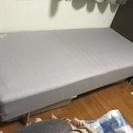 【お取引中】IKEA シングル 脚付きマットレス