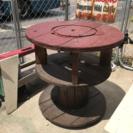 ケーブルドラム テーブル