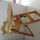 幼児用木製チェア