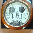 ミッキーマウス 壁掛け時計 クウォーツ 新品 未使用