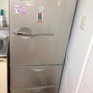 やや小型の冷蔵庫です。