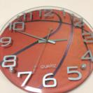バスケットボール型 壁がけ時計