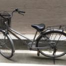26型 自転車 シルバー