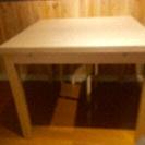 IKEA 伸長式テーブルダイニングテーブル