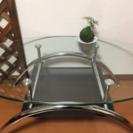あげます!ガラスローテーブル