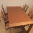 ダイニングテーブル 美品 椅子セット