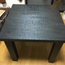 正方形!ちょっとアジアンなダイニングテーブル