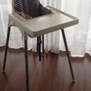 IKEAのハイチェア+クッションです