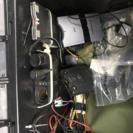 ETC 3台 バイク用リアBOXシガー電源とETC