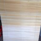 IKEA ウッドブラインド 120×155