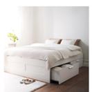 【さしあげます!】IKEA BRIMNES 140x200 cm ...