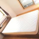 【値下げ】【5月限定】セミダブル 収納 ベッド