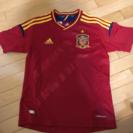 サッカーゲームシャツ スペイン‼︎本場購入140子供