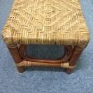 竹編み椅子