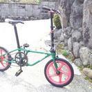 オシャレな折り畳み自転車  DAHON16インチ