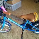 子供 自転車16インチ補助輪あり 室内保管です。
