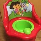 美品 おまる ドーラ トイレ トレーニング スツール ほぼ未使用 ...