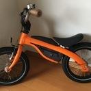 【中古】BMW Kidsbikeオレンジ ストライダーにも自転車に...