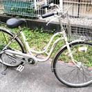 ★26インチのシティサイクル★自転車カバー付★中古ママチャリ★