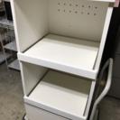 キッチンボード ホワイト 全国家具工業連合会 レンジ台 収納棚