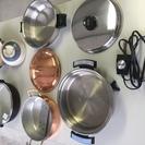 鍋各種セットで、売ります。