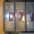 プラスチックケース各種  300~500円