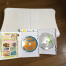Wii Fit 本体とソフト ファミリートレーナー付!